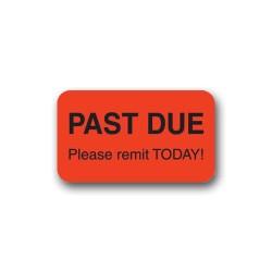 """""""Past Due"""" Label"""