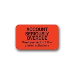 """Account Seriously Overdue"" Label"