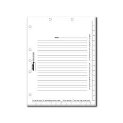 "Tabbies 11"" Legal Index Divider Sheets"