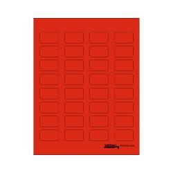 Tabbies Labels-U-Create - Red
