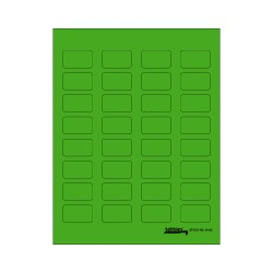Tabbies Labels-U-Create - Green