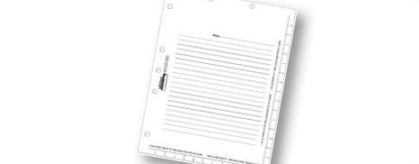"""11"""" Divider Sheets"""