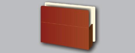 End Tab File Pockets