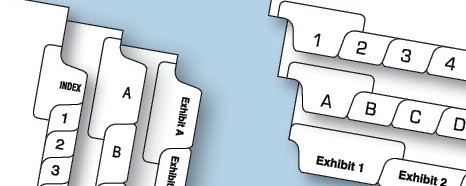 One-Sided Style Tabs